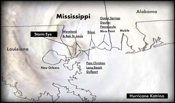 Mississippi Gulf Coast Katrina Photos Sorted by Region/Area